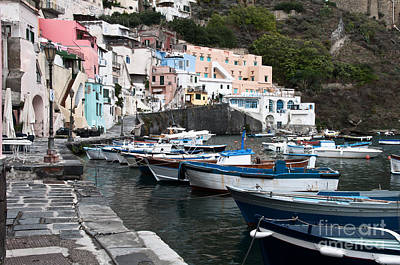 Naples Italy Photograph - Procida by Marion Galt