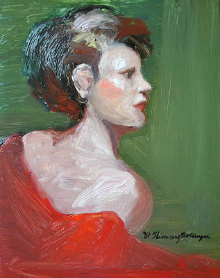 Palo Cedro Painting - Profile Gaze by Patricia Kimsey Bollinger