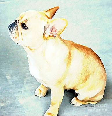 Profile In Frenchie Art Print