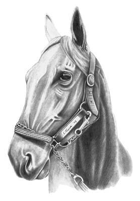 Profile Art Print by Lawrence Tripoli