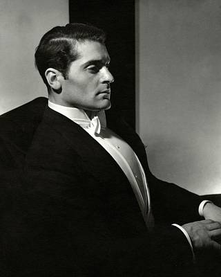Film Industry Photograph - Profile Of Francis Lederer by Edward Steichen