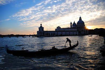 Photograph - Profile Of Venice by Jacqueline M Lewis
