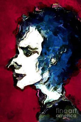 Painting - Profiling Mrs X by Nicole Philippi