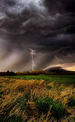 Lightning Photograph - Profound by Phil Koch