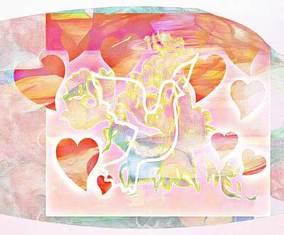 Digital Art - Profound Thought Hearted Again by Catherine Lott