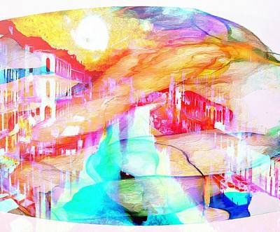 Painting - Profound Thought Italy Reveals Her by Catherine Lott