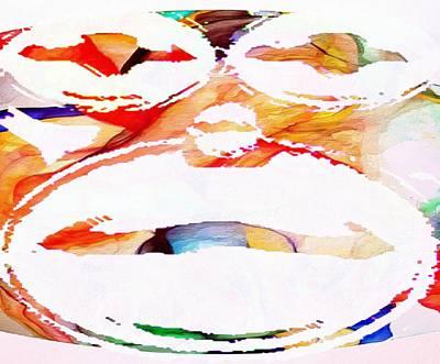 Digital Art - Profound Thought Monkey by Catherine Lott