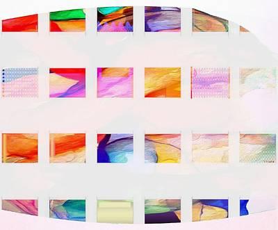 Digital Art - Profound Thought Segmented by Catherine Lott
