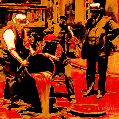 Hangout Digital Art - Prohibition 20130218 by Wingsdomain Art and Photography
