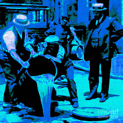 Hangout Digital Art - Prohibition 20130218m180 by Wingsdomain Art and Photography