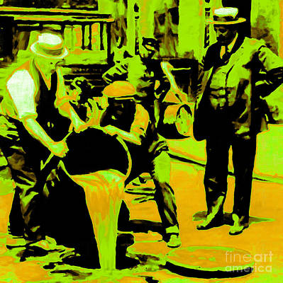 Hangout Digital Art - Prohibition 20130218p45 by Wingsdomain Art and Photography