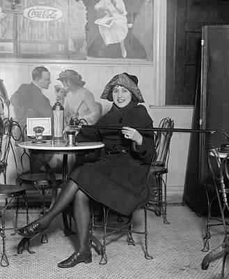 Prohibition Furtive Drink 1922 Art Print