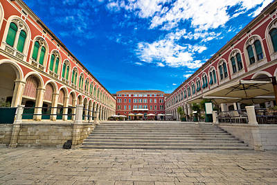 Photograph - Prokurative Square In City Of Split by Brch Photography