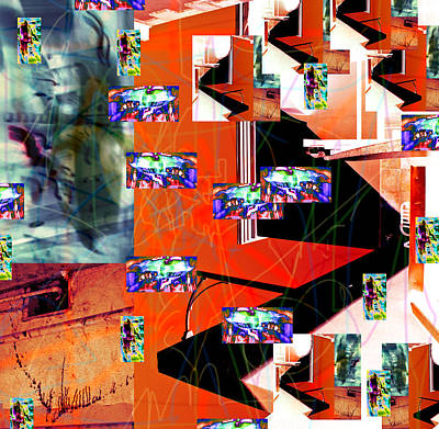 Scribbles Photograph - Proliferation Of Fertile Entropy 2010 by James Warren