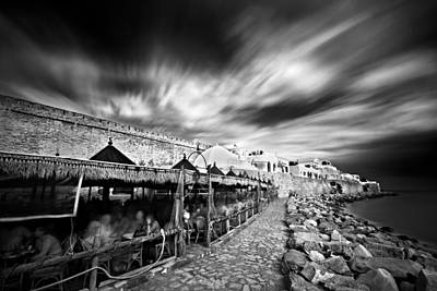 Photograph - Promenade By The Mediterannean Sea / Hammamet by Barry O Carroll