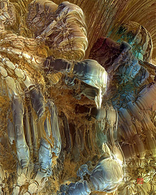 Digital Art - Prometheus 4 by David Jenkins