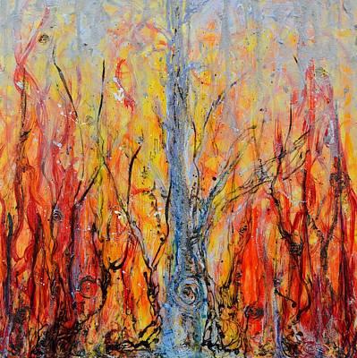 Painting - Prometheus by Regina Valluzzi