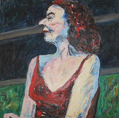 Metal Sheet Painting - Prominent And Proud by Esther Newman-Cohen