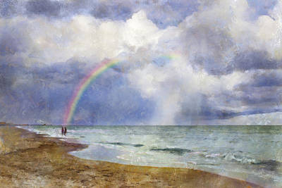 Digital Art - Promise In The Storm by Francesa Miller