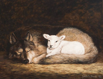 Promise Of Peace Art Print by Gale Smith