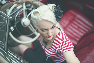 Mercedes Photograph - Promise, You Won\\\'t Delete Me by Reinhard Block