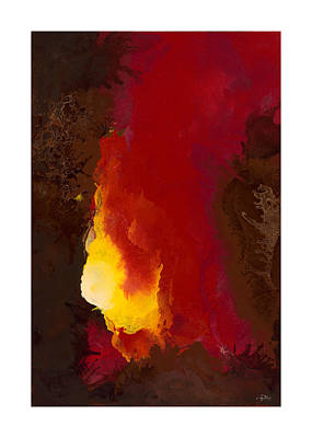 Impasto Oil Painting - Promised Spirit by Craig Tinder