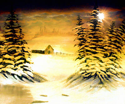Promises Of A Brighter Day Art Print by Barbara Griffin