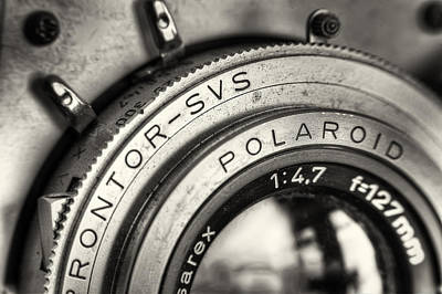 Gear Photograph - Prontor Svs by Scott Norris