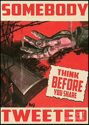 Propaganda Redone V2 Art Print