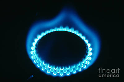 Photograph - Propane Burner by ER Degginger