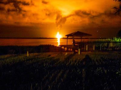 Photograph - Propane Explosion by Christy Usilton
