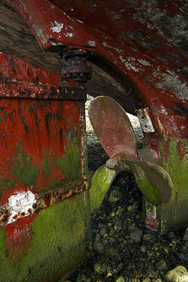 Photograph - Propeller And Rudder by RicardMN Photography