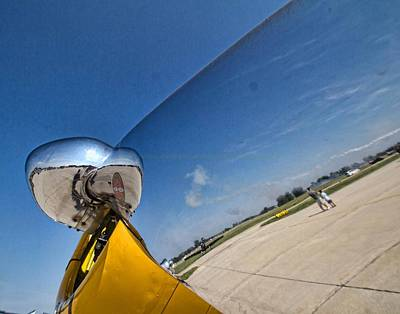 Photograph - Propeller Reflection by Daniel Sheldon
