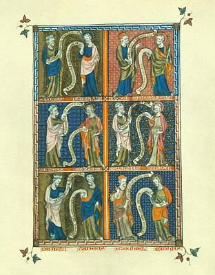 Prophets And Apostles Second Folio Art Print