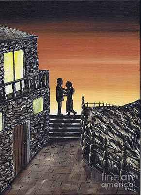 Painting - Proposal by Kenneth Clarke