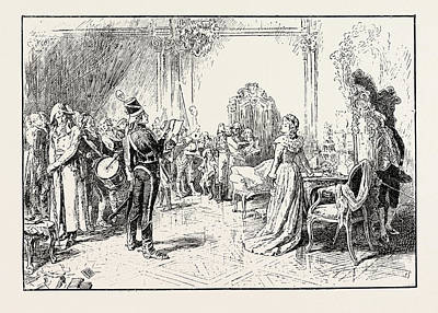 Proscribed An Incident In The French Revolution 1796 Art Print