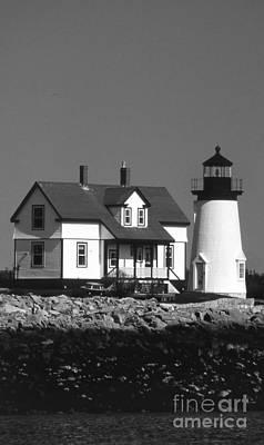 Prospect Harbor Lighthouse Art Print