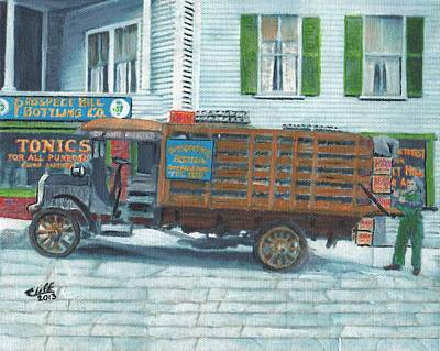 Soft Drink Painting - Prospect Hill Bottling Co. by Cliff Wilson