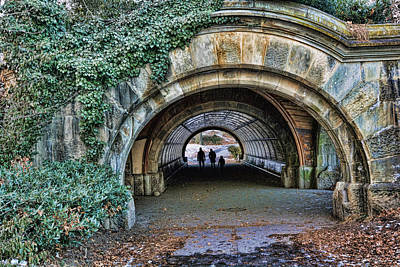 Photograph - Prospect Park Passage - Brooklyn by Jeffrey Friedkin