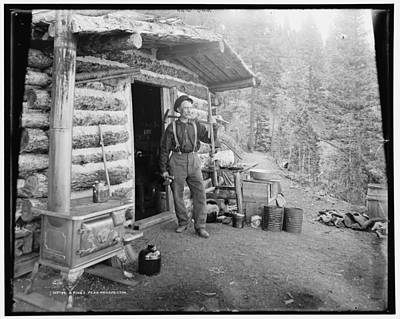 Prospecting Photograph - Prospector In Pikes Peak by Georgia Fowler