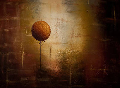 Abstract Art Painting - Prosperity by Carmen Guedez
