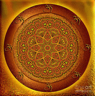 Earnings Digital Art - Prosperity Mandala - Mandala Art  By Giada Rossi by Giada Rossi