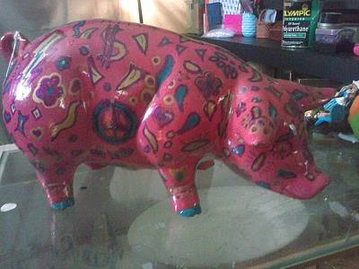 Prosperity Pig Original by Jaci Standridge