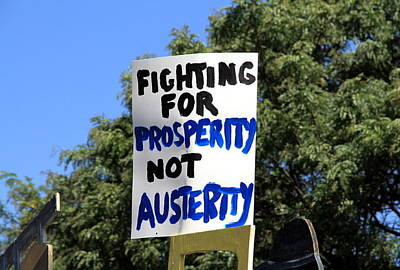 Photograph - Prosperity Versus Austerity by Valentino Visentini