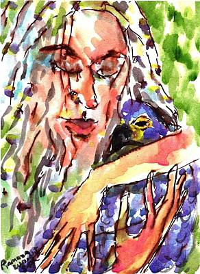 Protect Our Birds Art Print by Ramona Wright