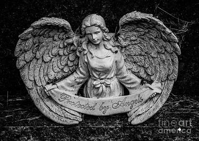 Photograph - Protected By Angels by Grace Grogan