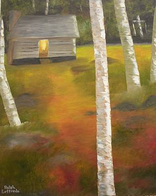 Smokey Mountains Painting - Protecting The Homestead by Ralph Loffredo