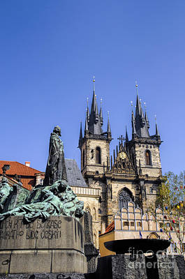 Photograph - Protestant Reformer And Gothic Church by Brenda Kean
