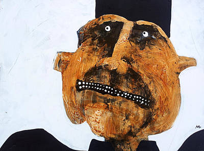 Outsider Art Mixed Media - Protesto No. 11 by Mark M  Mellon