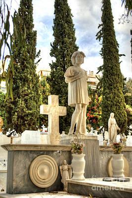 Photograph - Proto Nekrotafeio Athens 1 by Deborah Smolinske